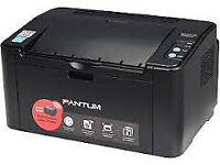 NEW WIRELESS LASER PRINTER BY PANTUM - PRINT FROM PC. LAPTOP, TABLET, SMARTPHONE, LOW RUNNING COST