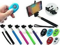 Bluetooth Extendable Selfie with Shutter Release