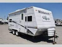 2004 Forest River wild wood 19' travel trailer