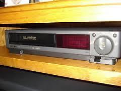 Old VCR's from 80s/90s