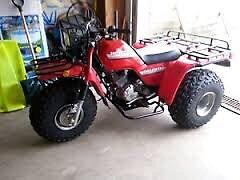 Honda Big Red 3 Wheelers ANY Condition!