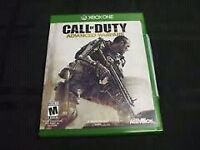 Call of duty advanced warfare and call of duty ghost for sale