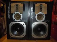 pair of jamo d115 speakers
