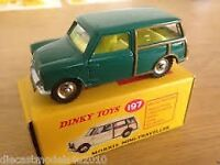 Dinky classic model/Morris Mini Traveller / 1.76 scale /unopened and sealed