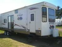 39 ft. Retreat Travel Trailer for Rent in Marco Polo, Cavendish