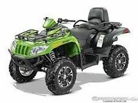 ARCTIC CAT NO BRAINER SALES EVENT SEE NEW STOCK LIST