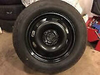 VOLKSWAGON 15 INCH SPARE TIRE AND WHEEL BRAND NEW $100