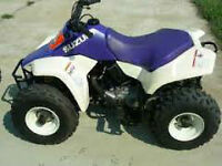 WANTED SUZUKI LT 80 QUAD