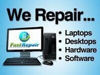 LAPTOP & COMPUTER REPAIR MICROSOFT REGISTERED REFURBISHER IPHONE SCREENS & PRINTER REPAIRS