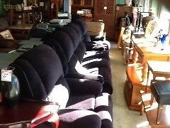 Dav ini Lounge suite, 4 Recliners Invermay Launceston Area Preview