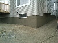 Demolition , waterproofing , foundation repair and more