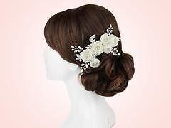 Wedding Bridal Crystal Hairpiece Kate Ketzal Lillian Comb