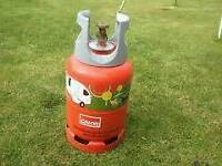 Empty Lightweight propane containers x 2