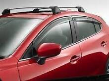 Mazda 3 BM Weathershield Kit Front Rear Hatch Slimline BM11-AC Doubleview Stirling Area Preview