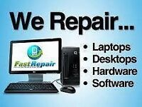 COMPUTER & LAPTOP REPAIRS, MICROSOFT REGISTERED REFURBISHER, ANY FAULT, FAST SERVICE, DATA RECOVERY