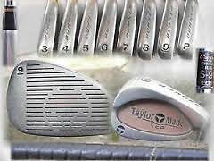 TAYLOR MADE BURNER IRONS LCG STEEL SHAFT