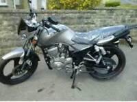 Zontes 125 cc Motorbike