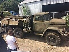 Zil 131 russian army vehicle