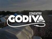 Bar Work at Godiva Festival, Coventry!