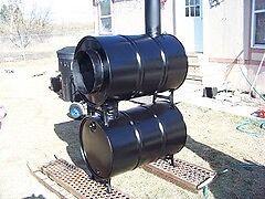 Steel barrels for your DIY barrel stove London Ontario image 6