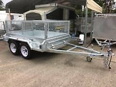 8 X 5 Heavy Duty Galvanised Box Trailer TANDEM Axle Braked 2000kg Erina Gosford Area Preview