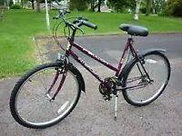 "Falcon Interseptor ladies bike 18 speed 19"" frame 26"" wheels"