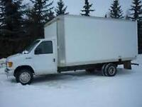 2006 Ford E-450  Super Duty, Diesel Cube truck