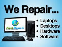 LAPTOP/PC REPAIR MICROSOFT REGISTERED REFURBISHER IPHONE SCREENS & PRINTER REPAIRS FREE ANTIVIRUS