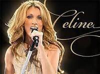 Paire de billet Céline Dion pour le 8 août 2016 PARTERRE au cost