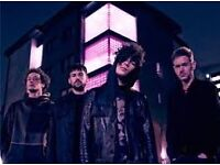 The 1975 FANTASTIC seated tickets for Newcastle Metro Arena Saturday 17th December