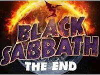 Black Sabbath Dublin 20th Jan x2 seated £120 for both