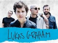 2 X TICKETS LUKAS GRAHAM 01-03-2017 NEWCASTLE