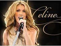 Celine Dion Tickets London!!