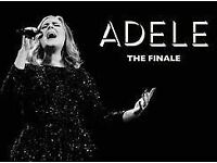 2 x Adele tickets the Finale at Wembley 28th June