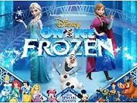 DISNEY ON ICE - 4x TICKETS FOR FROZEN SHEFFIELD ARENA (17 DECEMBER @ 2.30PM)