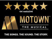 motown the musical - saturday evening 27th May- unwanted theatre tickets worth £175 each