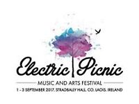 Electric Picnic ** FAMILY ** Tickets x2 €700 / £600 STG - HARD COPIES + Receipt