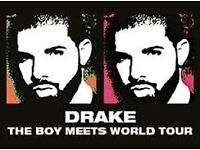 MUST GO SOON- DRAKE-TWO STANDING TICKETS/ HYDRO/ 22/03/17