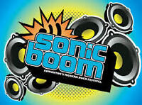 Two Sonic Boom General Admission Weekend Passes