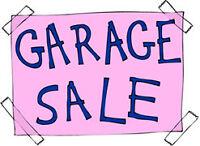 **Garage Sale ~ Sun Oct 4th!!