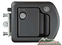 Trimark-Motorhome-RV-Camper-Entrance-Entry-Door-Lock-Handle-Black