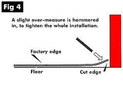 Stable mat edges