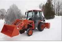 Snow removal in Bracebridge ( in town only )