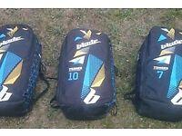 Complete kitesurfing equipment