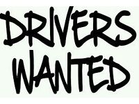 £10 per hour driver wanted