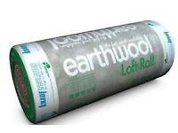 Knauf Earthwool Loft Insulation Roll 44 Combi Cut 100mm - 8.30m²/Roll