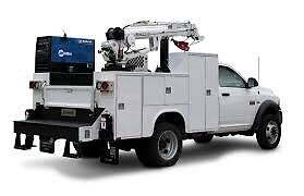 Wanted. Service truck with crane.