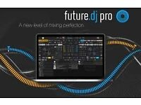 FUTURE DECKS DJ PRO VERSIONS 3.6 NEW ON DISC WITH LICENCE FOR WINDOWS PC/LAPTOP