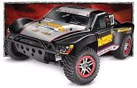 Traxxas Slash 4x4 vxl with upgraded parts.