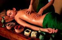 Body massage only 29.99 (only women)